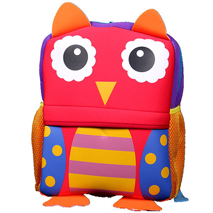 Happy Owl Backpack For Children:
