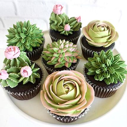 Chocolate Garden Cupcakes: Gifts for Men