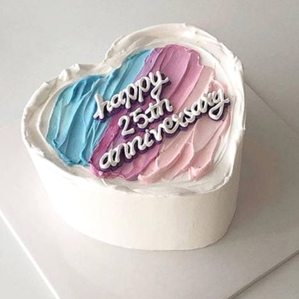 Without Us Its Just A Cake: Wedding Anniversary Cake