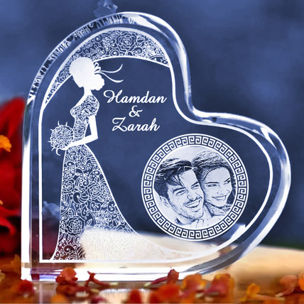 Happy Anniversary Personalised Plaque: Anniversary Gifts