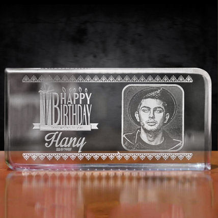 Happy Birthday Personalised Plaque: New Arrival Gifts in Dubai