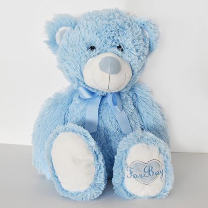 Sky Blue Teddy Bear: