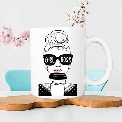 Best Girl Boss Mug: Boss Day Gifts