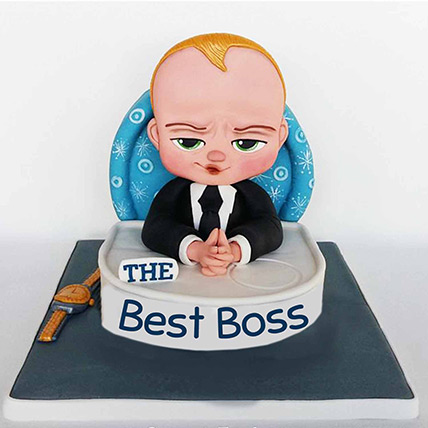 The Best Boss Designer Cake: Boss Day Gifts