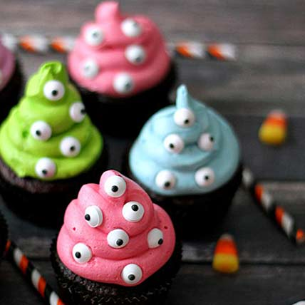 Eyes on You Cup Cakes: Halloween Cupcake Ideas