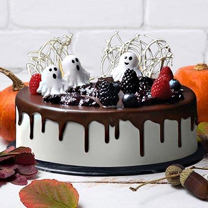 Halloween Casper Cake: Halloween Cakes