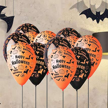 Happy Halloween Latex Balloons: Halloween Gift Ideas