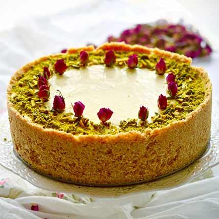 Cheesecake With Gulabjamun Stuffing: Cheesecakes