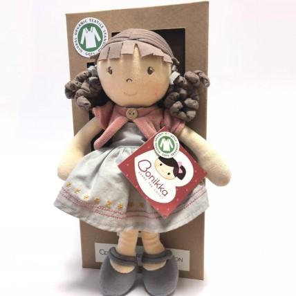 Rose Bonikka Organic Dolls 32cm in a box: Dolls