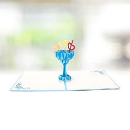 Mocktails of Emotions 3D Card: