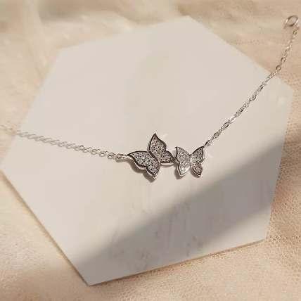 Zircon Butterfly Bracelet: Accessories
