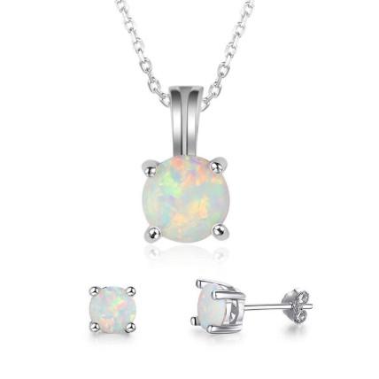 Opal jewelry set: Jewellery