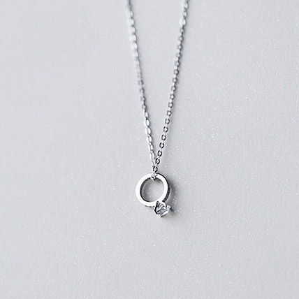 Promise Ring Necklace: Jewellery