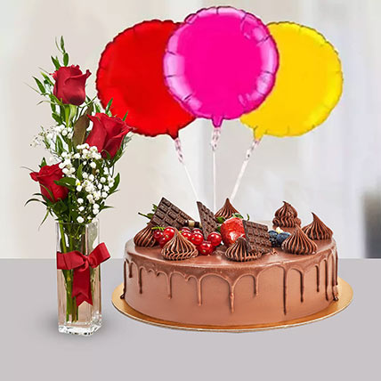 Birthday Surprise Collection: Birthday Flowers & Cakes