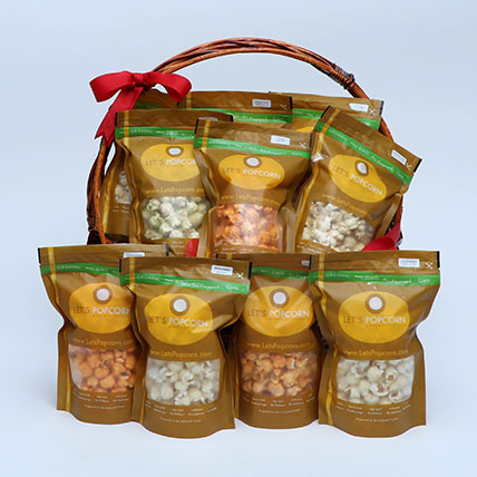 Salty Airpopped Popcorn Hamper: Gift Hampers