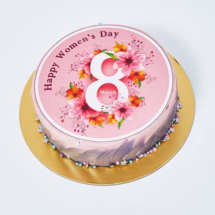 Womens Day Chocolate Cake: