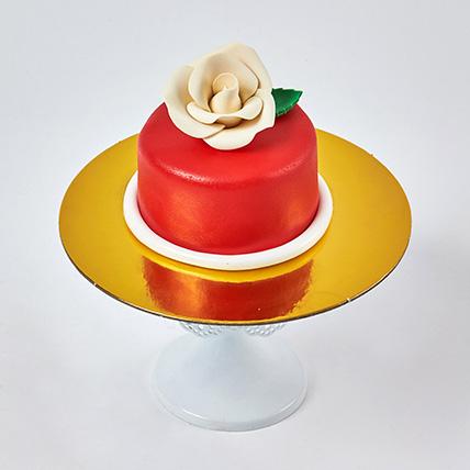 Exotic Red Mono cake: Mono Cakes