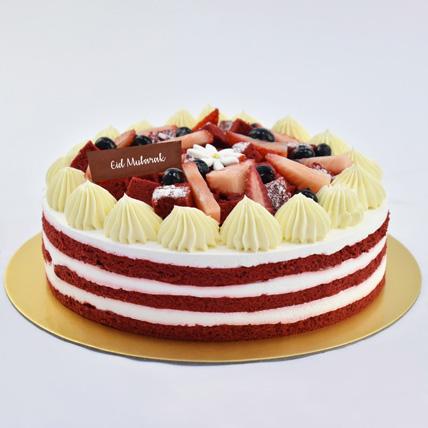 Red Velvet Cake For Eid: Eid Cakes