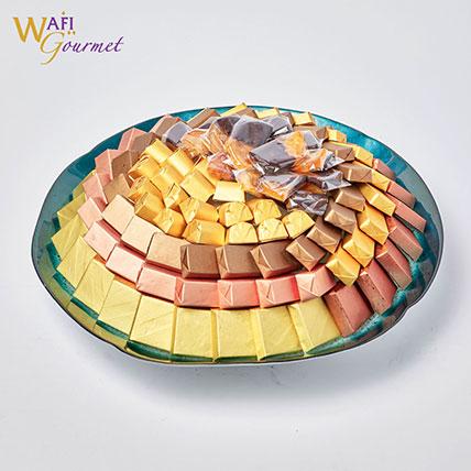 Assorted Chocolate Platter: Premium Gifts