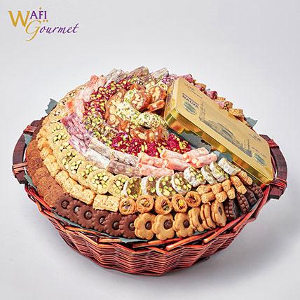 Gourmet Sweet Basket: Wafi Gourmet