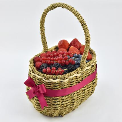 Berries Sensation Basket: Fruit Baskets