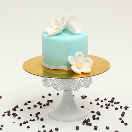 Fondant Icing Chocolate Mono Cake: Mono Cakes