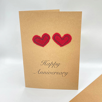 Happy Anniversary Handmade Greeting Card: Greeting Cards