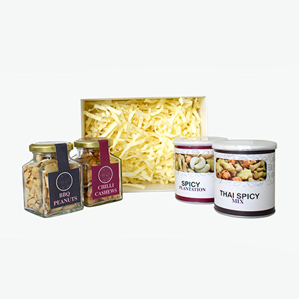 Spicy nuts hamper: Bakery and Snacks