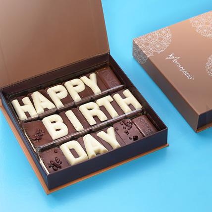 Happy Birthday Chcocolate: One Hour Delivery Chocolates