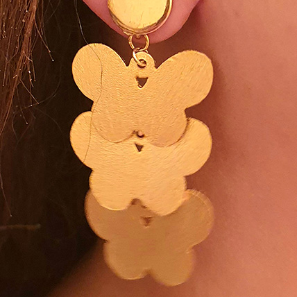 Handmade Earrings Gold Plated: Accessories