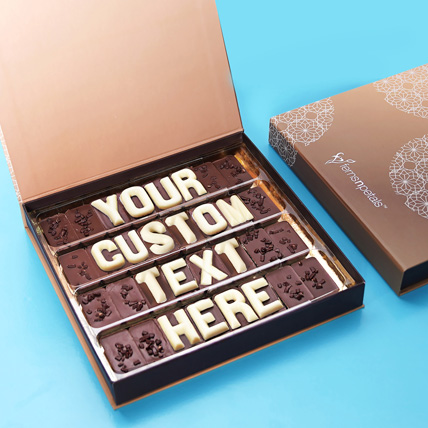 Customizable Chocolate Box: Gifts for Friend