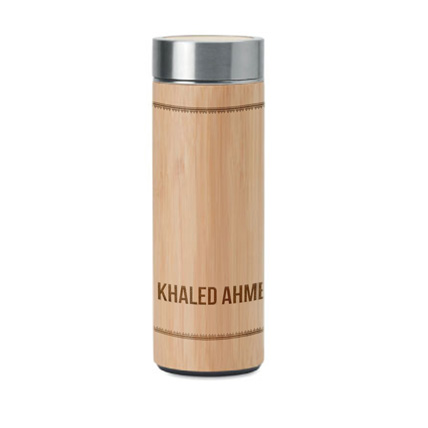 Engraved Bamboo Infuser: Personalised Accessories