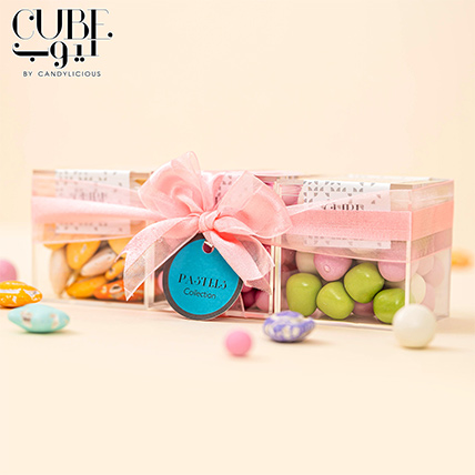 Mini 3 Cube Set Pastels Collection: Cube By Candylicious