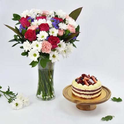 1 Kg red Velvet Cake Combo: New Arrival Combos