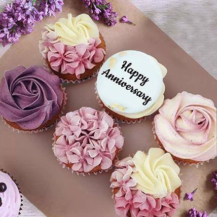 Anniversary Yummy Cupcakes: Cupcakes Dubai