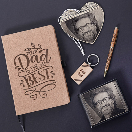 Egraved Gifts Combo For Best Dad: Personalized Father's Day Gifts 2021