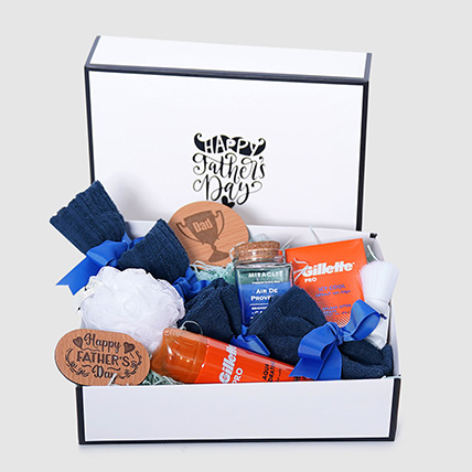 Happy Father's Day Grooming Hamper: Personal Care Products