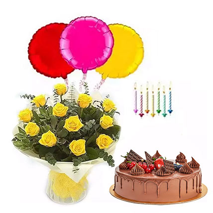 Birthday Surprise Collection 2: Birthday Flowers & Cakes