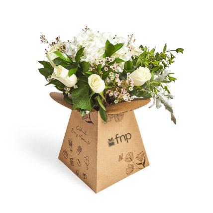 Wonderful Whites: Get Well Soon Flowers