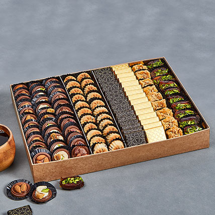 Assorted Tempting Delights Box: Best Chocolate in Dubai