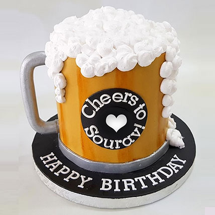 Birthday Special Cheers Cake: New Arrival Cakes