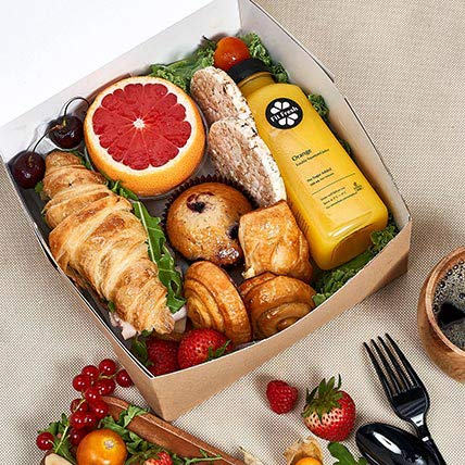 Breakfast Box For One: Cheese Boxes