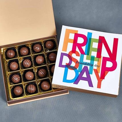 Friendship Day Chocolate Truffles: Friendship Day Gifts