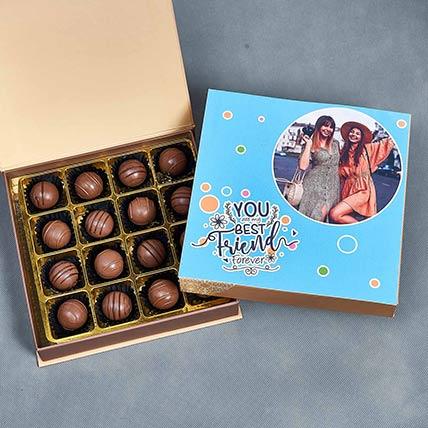Personalised Friendship Day Chocolate Box: Friendship Day Personalised Gifts