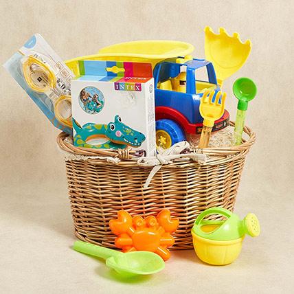 Fun At The Beach Kids Hamper: Toys for Kids