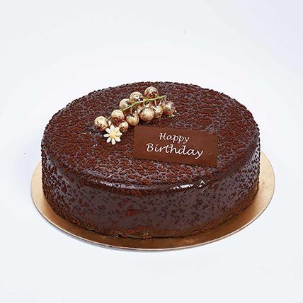 Dark Chocolate Birthday Cake: Birthday Cakes