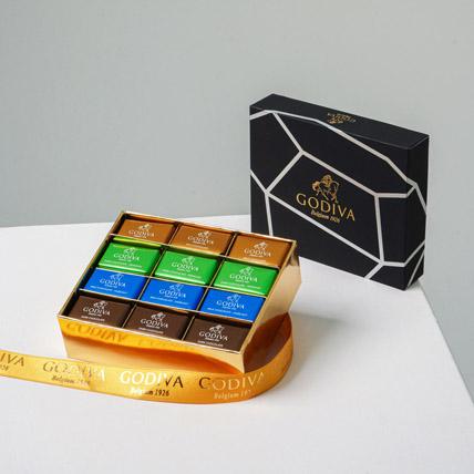 Box Of Delectable Godiva Chocolates 24 Pcs: Raksha Bandhan Chocolates