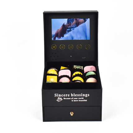 Personalized Video Message with Chocolates:  Personalised Chocolates