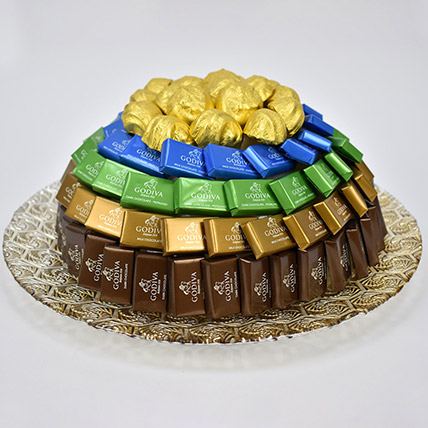 Godiva Chocolates Platter:  Godiva Chocolates