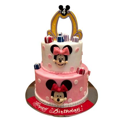 Cartoon Minnie Cake: 3D Cakes